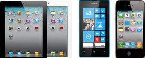 Mobiltelefon & Tablets